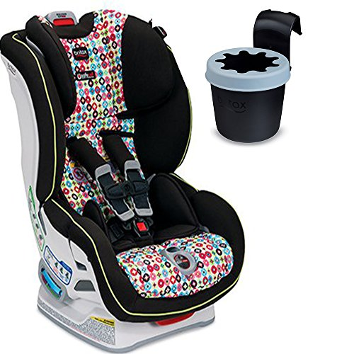 britax boulevard clicktight convertible car seat with black cup holder kaleidoscope toys games. Black Bedroom Furniture Sets. Home Design Ideas