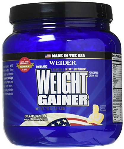 Weider Global Nutrition Muscle Builder Vanilla Dynamic Powder, 1.18 Pound -