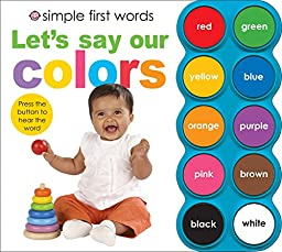 Simple First Words Let\'s Say Our Colors