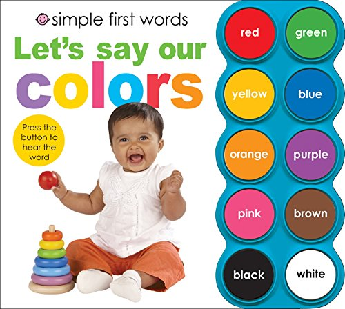 Presents to get 1 year old girls. Simple First Words Let's Say Our Colors