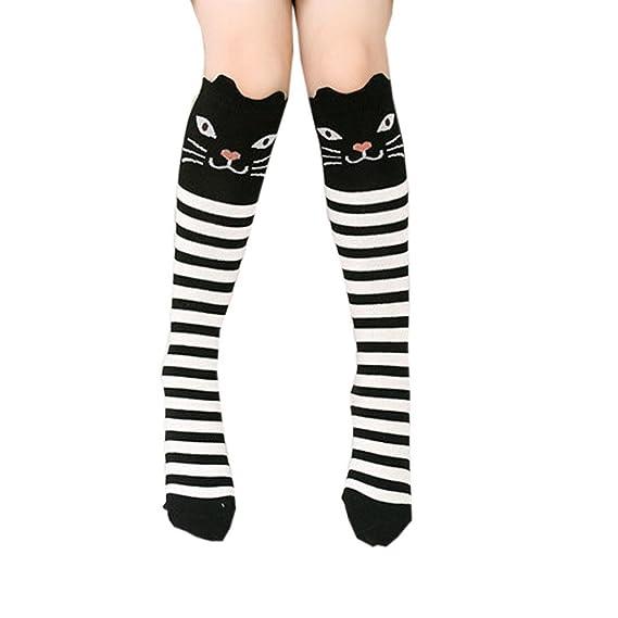 Calcetines Socks by BaZhaHei, Niños Chica Animal Patrón Rodilla Calcetines Calcetines Lindos de calcetín Socks para Mujer Patrón de Animales Infantiles ...