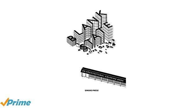 Amazon.com: Blank State: An Architectural Coloring Book ...