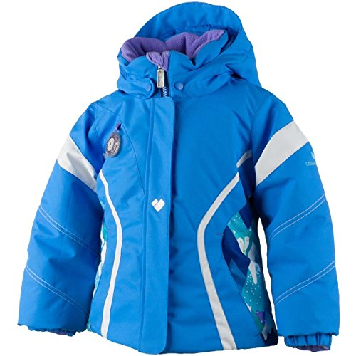 Obermeyer Kids Girl's Aria Jacket (Toddler/Little Kids/Big Kids) Cornflower Outerwear 8 Big Kids