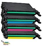 Toner Refill Store 4 Pack Replacement Samsung CLT-508L High Yield Toner Cartridges (CLT-K508L, CLT-C508L, CLT-M508L, CLT-Y508L) for the Samsung CLP-620ND, CLP-670N, CLP-670ND, CLX-6220FX, CLX-6250FX