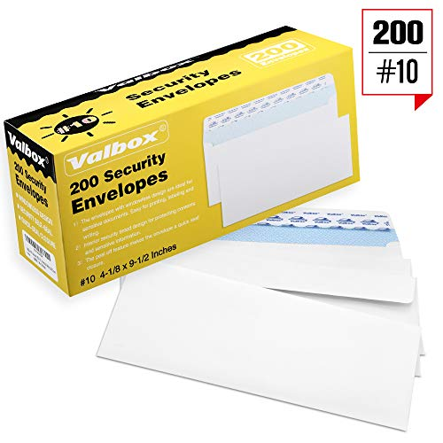 ValBox Self Seal Security Envelopes Windowless product image