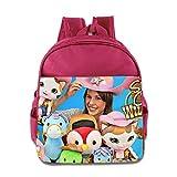 Toddler Kids Sheriff Callie's Wild West School Backpack Cute Children School Bags Pink