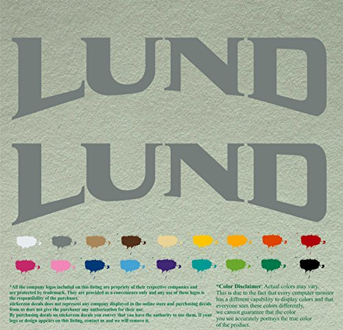 lund boats decal - 3