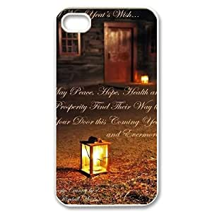 Love Wish Lanterns Back Case Cover for Iphone 4,4S,diy Love Wish Lanterns case cover