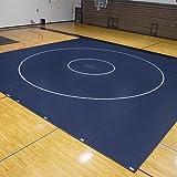 EZ Flex Sport Mats 1393102 42 ft. x 38 ft. x 2 in. Wrestling Mat System