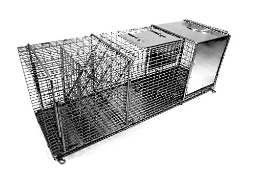 Tomahawk Live Trap Pro Roof/Attic Trap with Rear Sliding Access Door by Tomahawk Live Trap