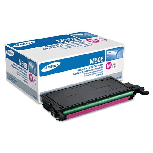 Genuine Samsung (CLT-M508S) Magenta Toner Cartridge (up to 2,500 pages)