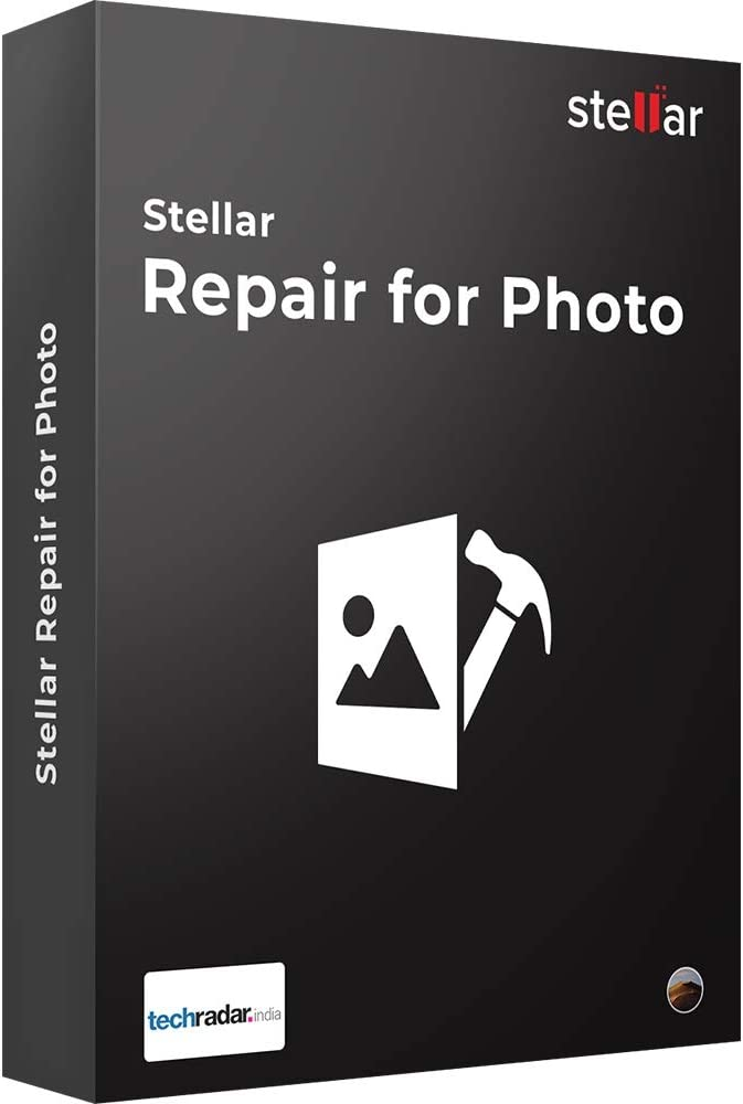 Stellar Repair for Photo Software   for Mac   Standard   Repair Corrupt or Damaged Photos   1 Device, 1 Yr Subscription   CD