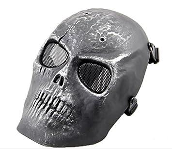 Ecloud Shop CS cráneo campo de máscara de respiración apoyos de la película Battlefield Heroes máscara