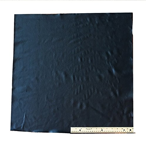 - A-1 Upholstery Leather Cowhide Black, Light Weight Grade A, 4 Square Feet, 24 X 24 Inches