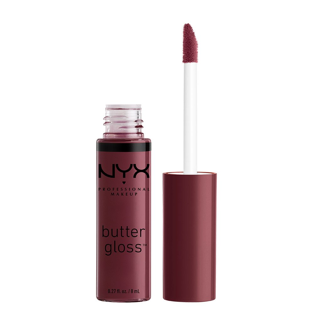 NYX Professional Makeup Butter Gloss, Devil's Food Cake, 0.27 Ounce