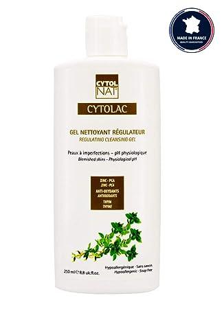 CYTOLAC® Gel limpiador regulador cara y espalda 250 ml ...