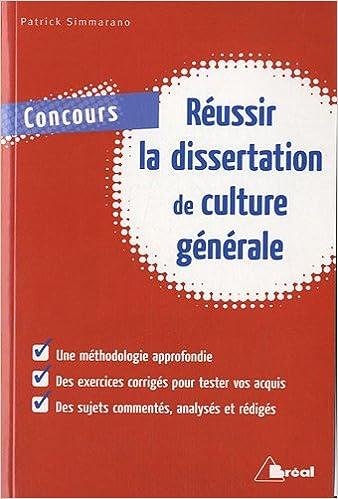 Livre gratuits en ligne Réussir la dissertation de culture générale epub, pdf