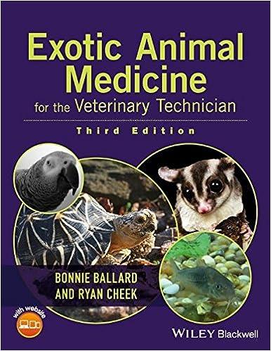 Exotic Animal Medicine For The Veterinary Technician Bonnie Ballard