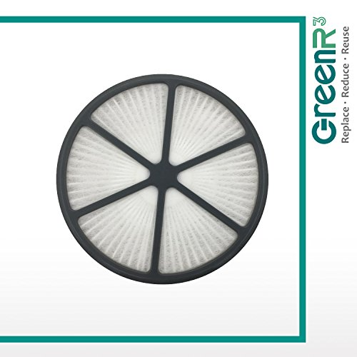 GreenR3 1-PACK HEPA Air Filters Vacuum Cleaners for Hoover 440003905 fits UH724001 WindTunnel Air UH72400 UH72401 UH XUH Model Series Replacement Parts Tool Accessories Part Number PN and more