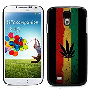 Graphic4You Marijuana Cannabis Weed Hemp Leaf Smoker Design Hard Case Cover for Samsung Galaxy S4 S IV