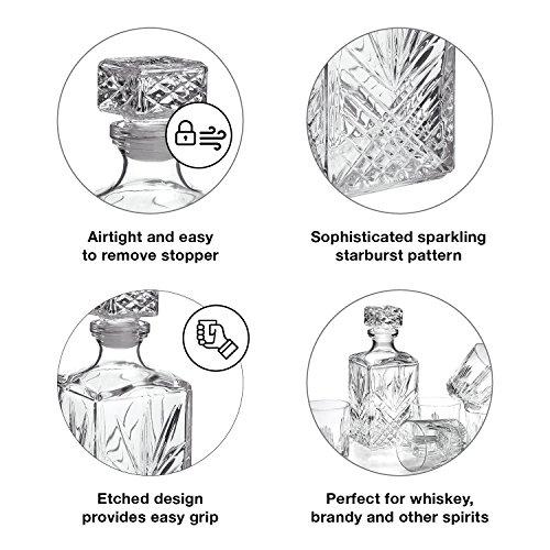 Bormioli Rocco Selecta 7-Piece Whiskey Gift Set, Frustration Free Packaging by Bormioli Rocco (Image #3)