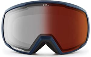 7f5e054a6b7 Amazon.com   Zeal Optics Unisex Eclipse Matte Black W Dark Grey ...