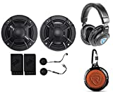 Polk Audio DB5252 5.25'' 600w Component Car/Marine/ATV Speakers +Headphones+Speaker