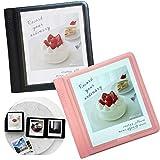 2NUL Polaroid Square Photo Album Fujifilm instax Square Instant Film Mini Album 29Pockets Set of 2