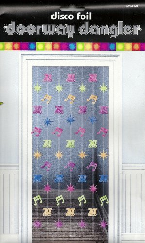 Disco Doorway Dangler 78in