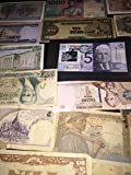 100 World Currency Notes - Mixed Foriegn Bills