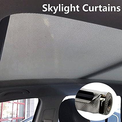 Amazon com: Sunroof Car Sunshade Curtains Skylight Shutter