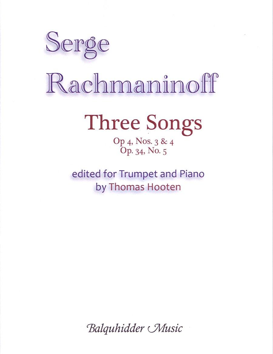 Three Songs (for B flat Trumpet) pdf