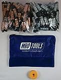 50 1/8 & 50 3/32 Standard Hex-Nut Cleco Fasteners w/ HBHT Tool & Bag (KHN4S100-3)