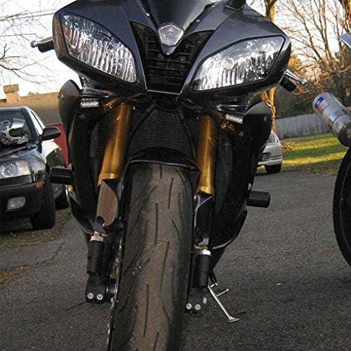 Bobury 2PCS /étanche Vibration /épreuve pour Moto v/élo Ambre LED Clignotants Blinker Lumi/ères