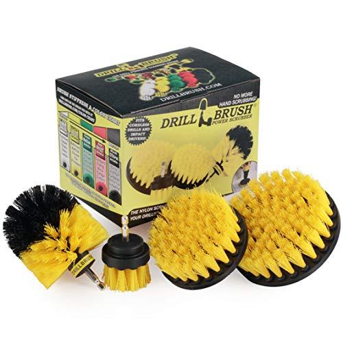 Drillbrush 4 Piece Nylon