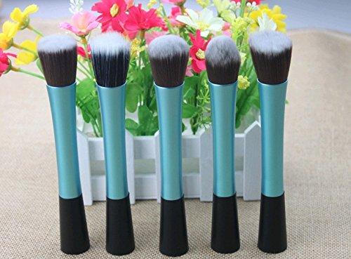 Annengjin® 5шт Профессиональный макияж комплект набор кистей для бровей Тени Косметическая Brush Tool (синий)