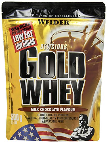 Weider Gold Whey Protein, Milk Schokolade, 500g Beutel