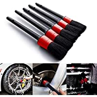 Auto Detailing Cleaning Brushes Boar Brush Set for Wheel Detail Cleaning Accessories