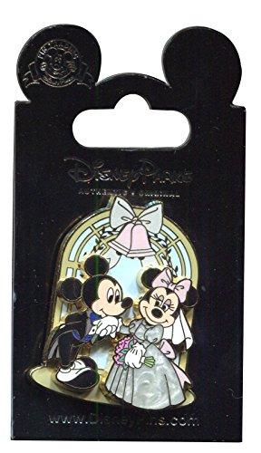 Mickey Mouse & Minnie Wedding Disney Pin