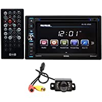 Soundstorm DD665B Double DIN 6.5 Car DVD/CD Player Receiver w/Bluetooth+Camera