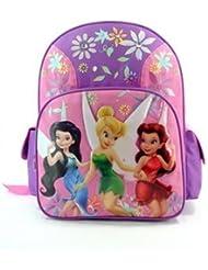 Disneys Fairies BackPack Full Size - Tinkerbell School Bag Large