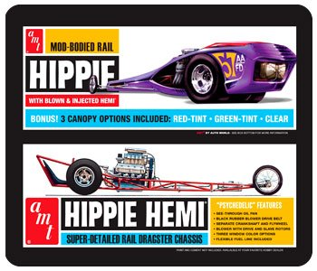 AMT Hippie Hemi Dragster from AMT