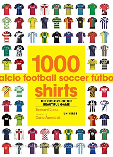 1000 Football Shirts: The Colours of the Beautiful - Canadian Sale Friday Black
