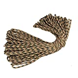 7 Core Outdoor Lifeline Camping Tent Weaving Binding Parachute Cord Home Umbrella Rope Braided Cord for or Military Survival Tool 11 Type 11Meter 1PC