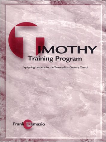 Teacher Training - Timothy Training Program-Teacher Edition