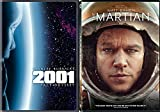 A Space Countdown DVD double Feature Sci-Fi 2001 Stanley Kubrick A Space Odyssey & The Martian Matt Damon Movie Set
