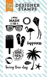 "Echo Park Stamp 4""X6""-Sunny Days"