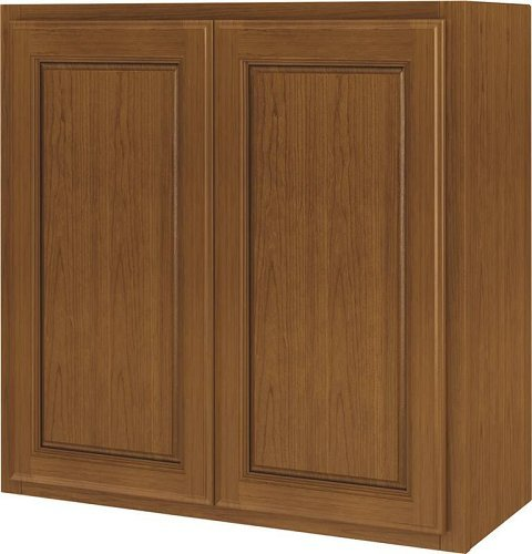 Randolph W2430RA-B Double Door Kitchen Cabinet 24 in W X 12 in D X 30 in H Amber