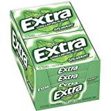 Extra Spearmint Sugarfree Gum, (Pack of 10)