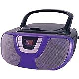 Amazon Price History for:Sylvania Portable CD Player Boom Box with AM/FM Radio (Purple)